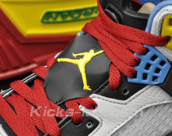 sneakers for cheap f8121 130e8 Jordan Spiz ike – Neutral Grey – Varsity Maize – Sapphire Blue – Varsity Red