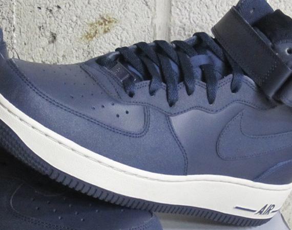 Nike Air Force 1 Tectuff Blu Navy Pu6vNel2ro