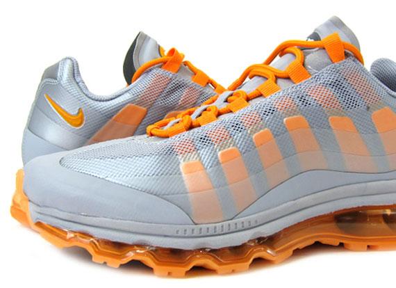 nike air max 95 360 wolf grey/vivid orange
