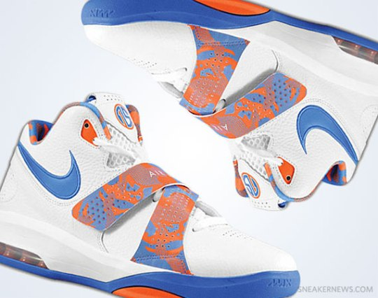 Nike Air Max Sweep Thru – Amare Stoudemire Knicks Home PE