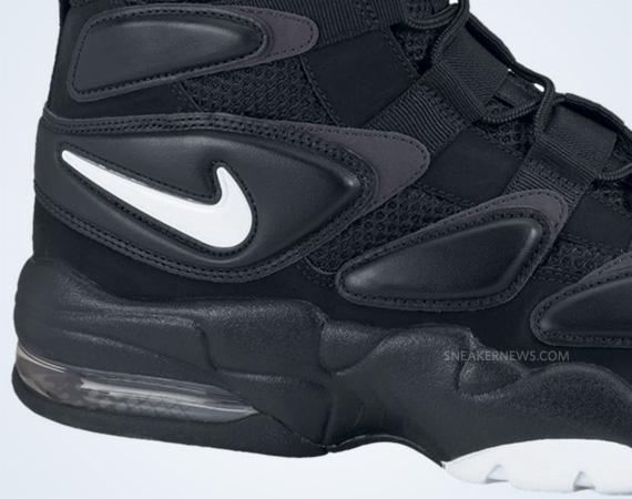 Nike Air Max Uptempo 2 Black White Dark Shadow