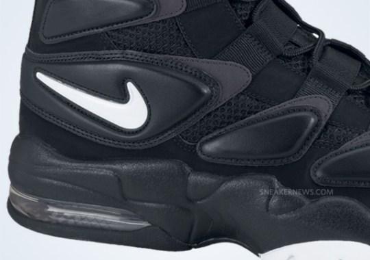 Nike Air Max Uptempo 2 – Black – White – Dark Shadow