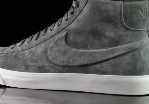nike blazer gray