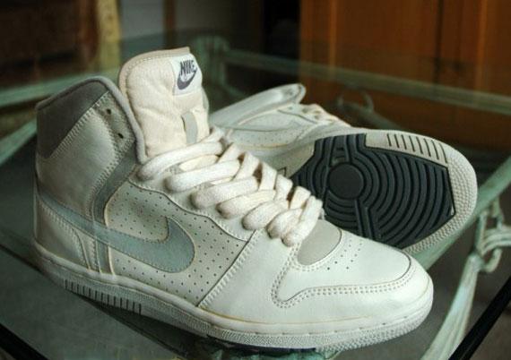 best service 9b023 16c18 Nike Court Force High - Vintage Unreleased Sample - SneakerN