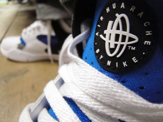 Nike Huarache Free 2012 Basketball – On-Foot Images