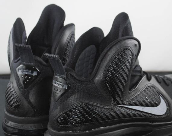 new style b9f0b c73f1 Nike LeBron 9  Blackout  – Release Reminder