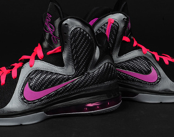 sports shoes 5aa3c beaed Nike LeBron 9  Miami Nights  – Release Reminder