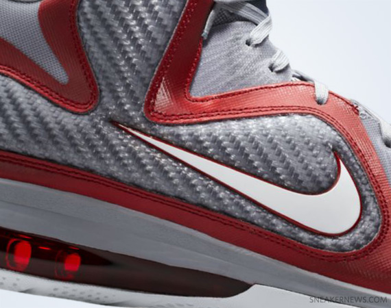 the latest c6675 ecf6a Nike LeBron 9  Ohio State  – Release Reminder