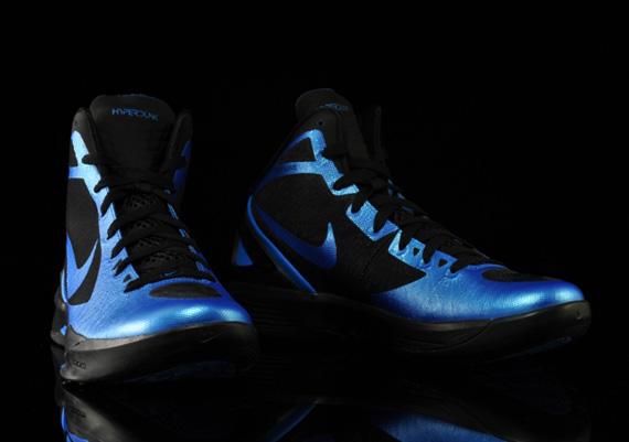nike zoom hyperdunk 2011 photo blue black