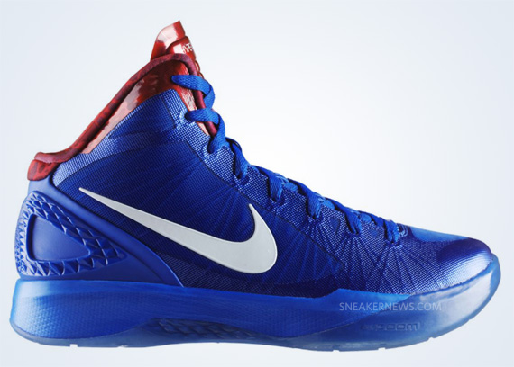 brand new c83dc 990a9 ... hot nike zoom hyperdunk 2011. treasure blue white sport red 487427 400.  show comments