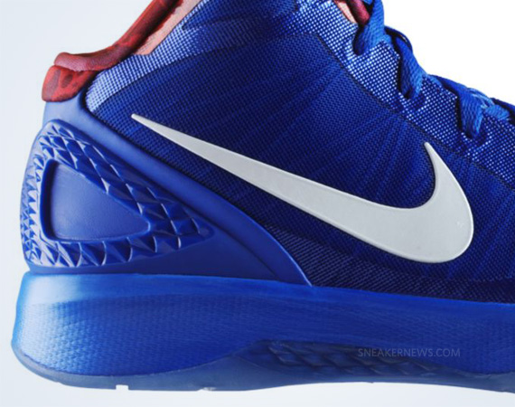 size 40 9a305 e3c03 Nike Zoom Hyperdunk 2011. Treasure Blue White-Sport Red 487427-400.  Advertisement. show comments