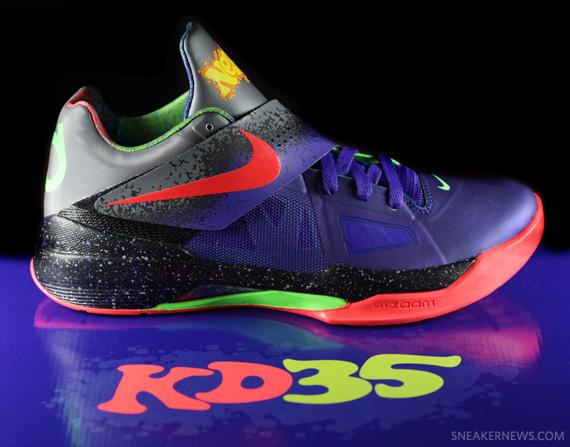 Nike Zoom KD IV 'Nerf' - Detailed Look - SneakerNews.com