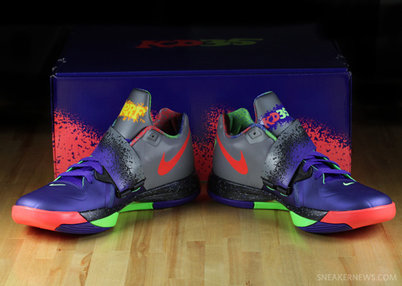 newest c5a2f 521f6 Nike Zoom KD IV  Nerf  - Detailed Look - SneakerNews.com