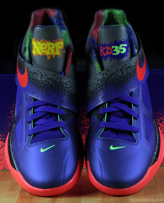 Nike Zoom KD IV 'Nerf' - Release Date - SneakerNews.com