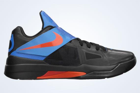 Nike Zoom KD IV - OKC Away \u0026 Blackout