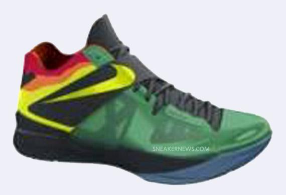 9f1652709076 Nike Zoom KD IV  Weatherman  Stadium Green Volt-Black-Team Orange. show  comments