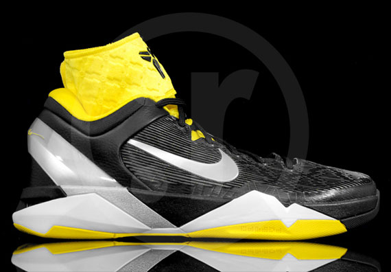 new products 89473 663d6 ... Nike Zoom Kobe VII BlackWhite-Del Sol 488244-001. Load .