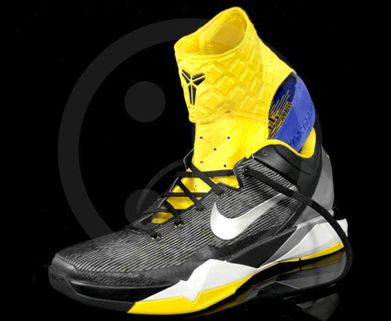 ... Nike Zoom Kobe VII BlackWhite-Del Sol 488244-001. Load .
