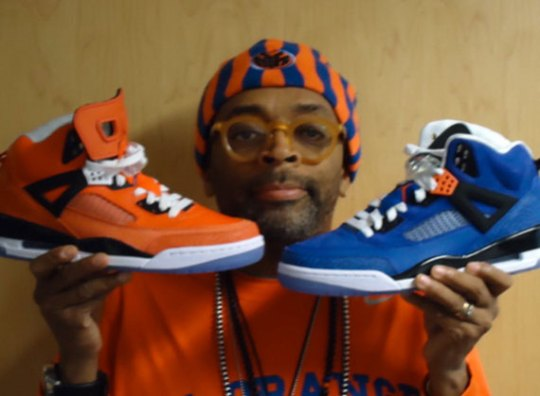 Spike Lee To Sign 'Knicks' Spiz'ikes in NYC