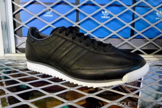 adidas nmd leather black