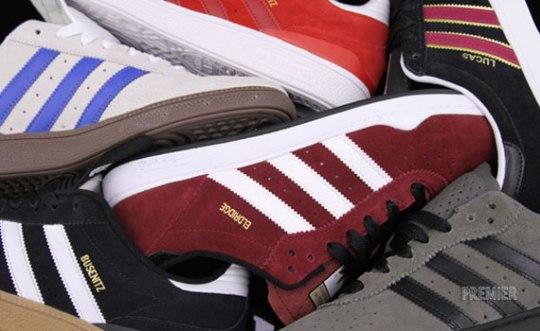 adidas Skateboarding Spring 2012 Footwear – Available