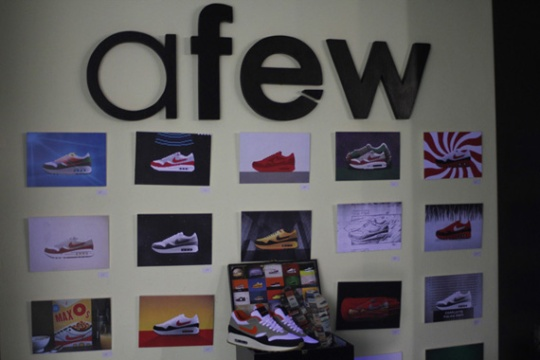 Afew x MAX100 Launch Party