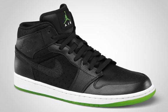 4701a32241db00 Air Jordan 1 Phat Cool Grey University Blue-White 364770-006. Black Action  Green-White 364770-007. Advertisement