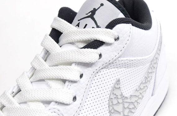 Air Jordan 1 Phat Low - White - Elephant Swoosh - SneakerNews.com 27fabccfb