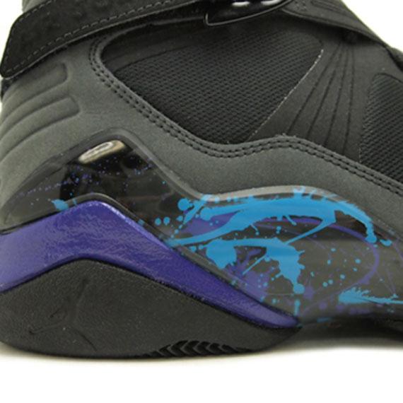Luft Jordan 8,0 Svart Lys Concord Aqua Tone