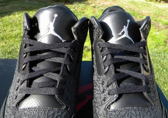 Air Jordan III 'Black Flip' – Release Reminder