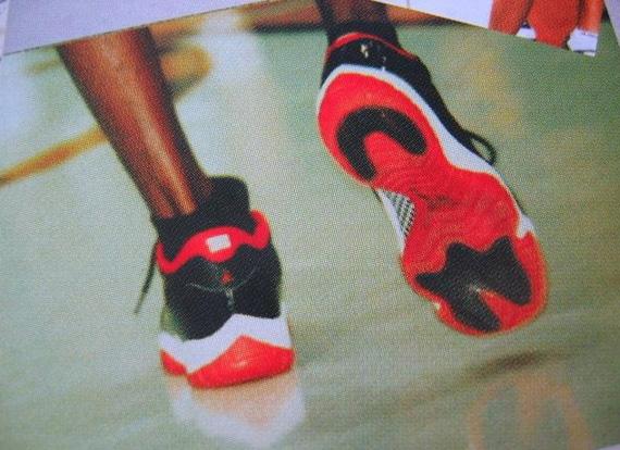 Jordan 11 Bred Low On Feet