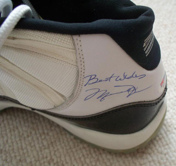 Air Jordan XI  Concord  - Autographed Game-Worn Pair on eBay ... 4a3580283