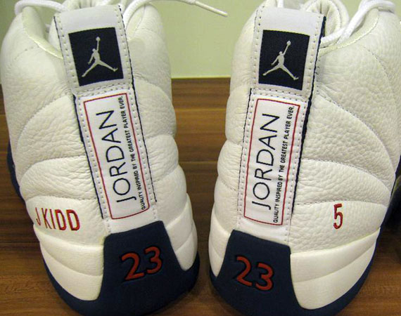 detailing 637b9 f46a4 ... low price air jordan xii jason kidd new jersey nets pe 592b9 f2040