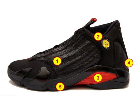online retailer 01e1a 785cb Air Jordan XIV - Ferrari Inspiration Breakdown - SneakerNews.com