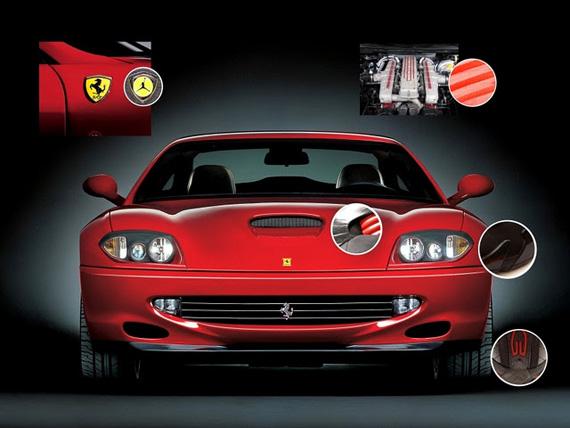 new arrival 629f1 1db68 Air Jordan XIV – Ferrari Inspiration Breakdown