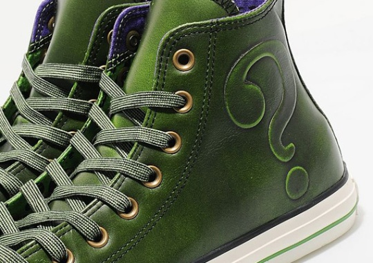 DC Comics x Converse Chuck Taylor All-Star Leather Hi 'Riddler'