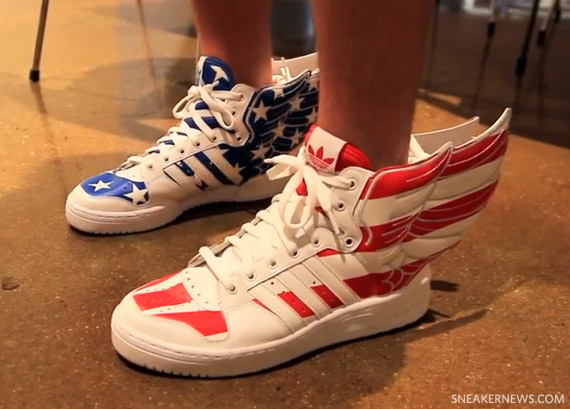 the best attitude c8d59 9980e Jeremy Scott x adidas Originals Spring Summer 2012 Preview