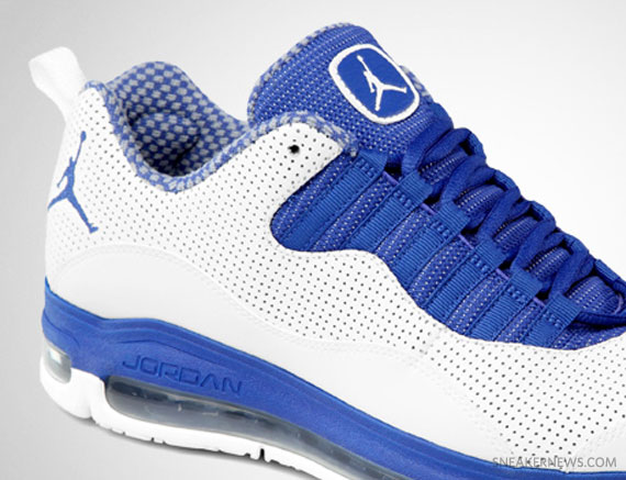 Jordan CMFT Air Max 10 White Old Royal