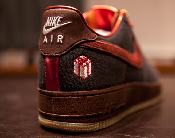 Nike Air Force 1 Bespoke 'The Gift' Detailed Images