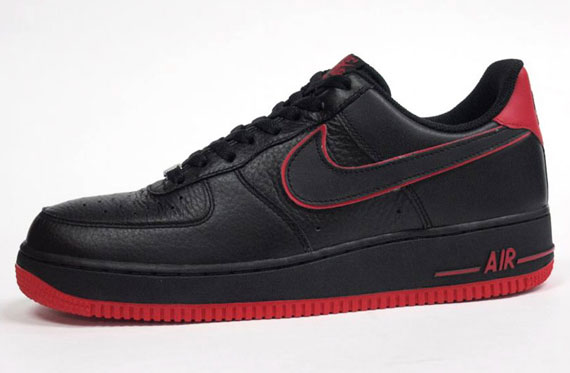 6f335d1c9bc9 outlet Nike Air Force 1 Low Black Red - nzhelitrain.co.nz