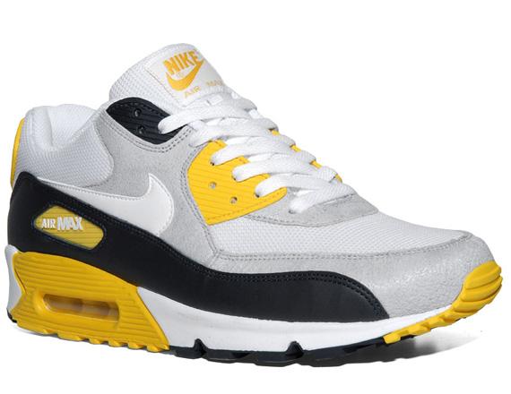 Nike Air Max 90 Nero Grigio Giallo prYi3