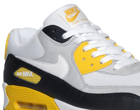 yellow nike air max 90