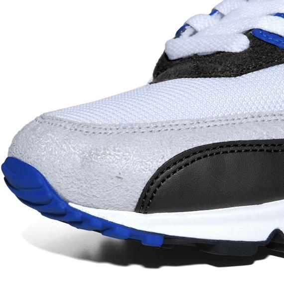 Nike Air Max 90 Gris Blanco Azul Negro mRrKWhB