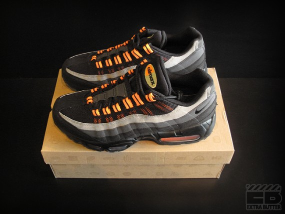 Air Max 95 Black Grey Orange