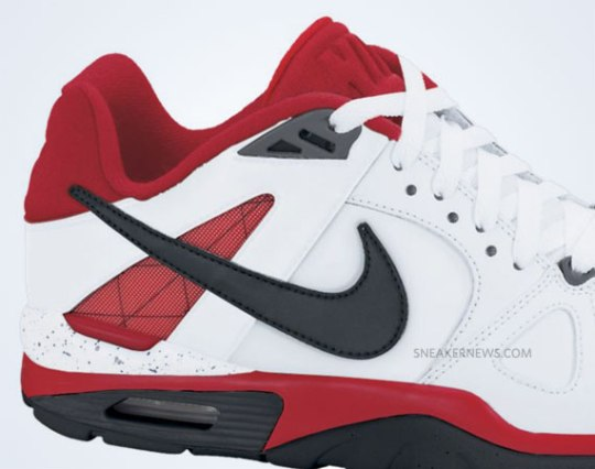 Nike Air Trainer Classic – White – Black – Fire Red