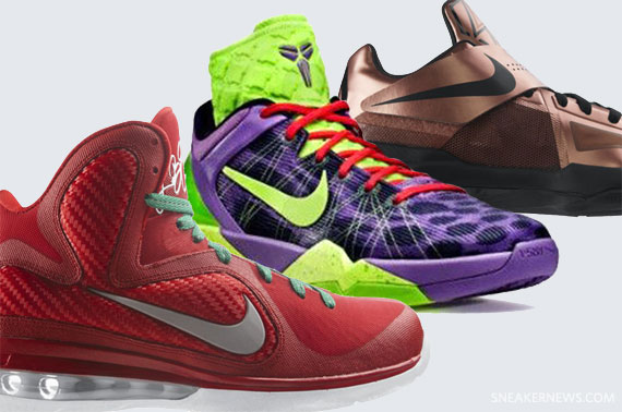 6037bfb948f2 Nike Basketball Christmas Pack 2011 - Release Date - SneakerNews.com