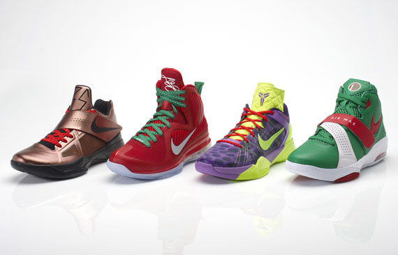 Nike Basketball Introduces Christmas Day 2011 Pack