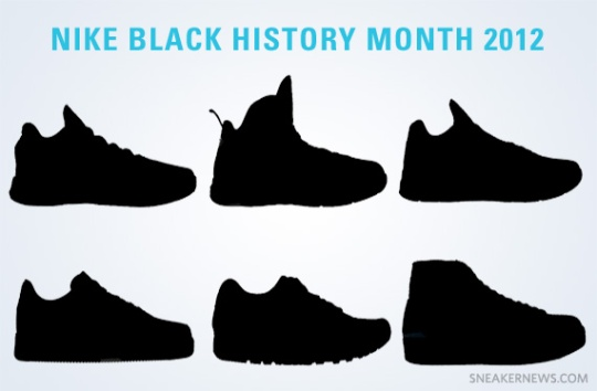 Nike Black History Month 2012 Line-Up