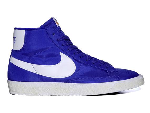 competitive price cb84f 2cc18 Nike Blazer High Vintage Nylon Pack - SneakerNews.com
