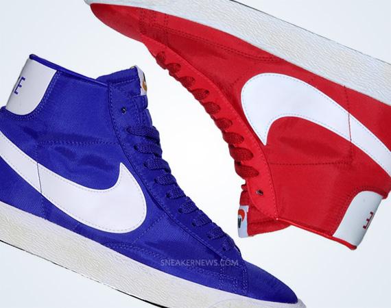 best service 7b423 97400 Nike Blazer High Vintage Nylon Pack